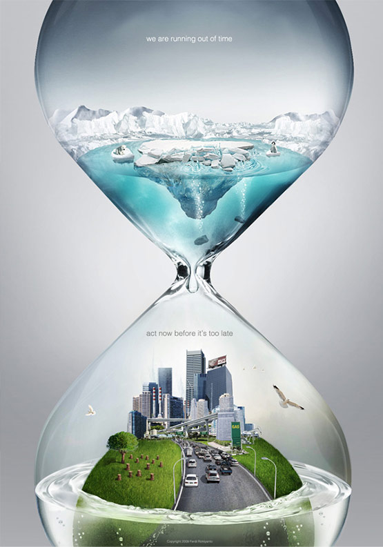 Global Warming, Best Creative Adverts of Ferdi Rizkiyanto