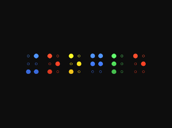 Google Braille Dark Wallpaper Free Download