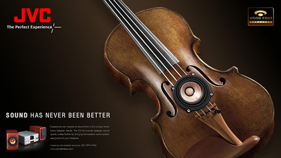 JVC WoodCone, Best Creative Adverts of Ferdi Rizkiyanto