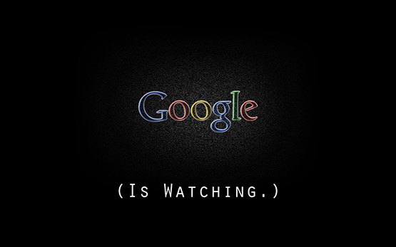 Google is Watching Wallpaper Free Download