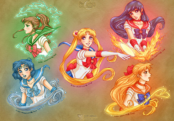 Sailor Moon Gold 5