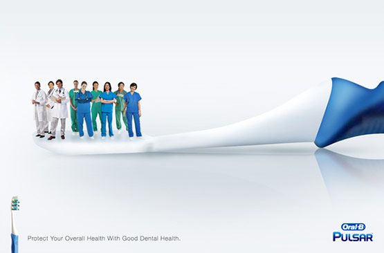 Oral-B-Pulsar, Best Creative Adverts of Ferdi Rizkiyanto
