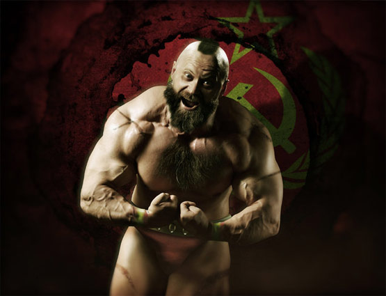Zangief, Street Fighter Art