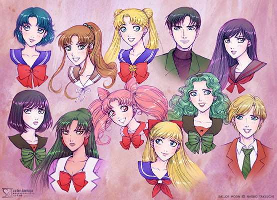 Sailor Moon: Team