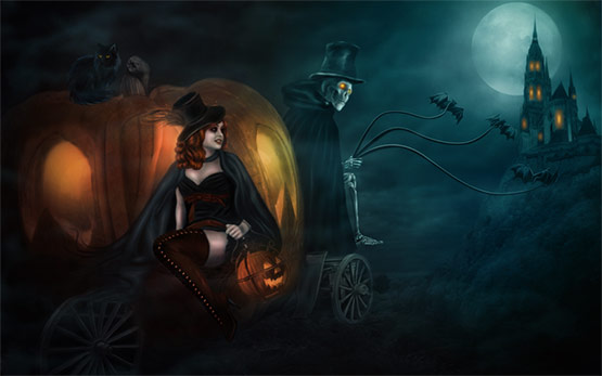 15, Halloween Cinderella Wallpaper for your Desktop
