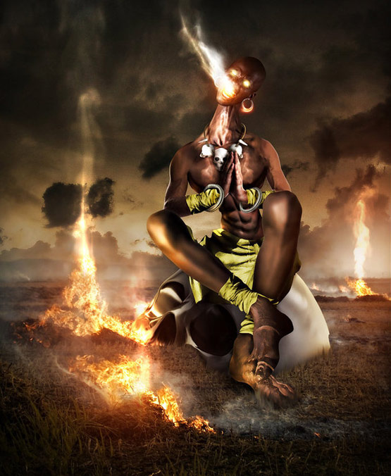 The Heat Dhalsim Street Fighter Art