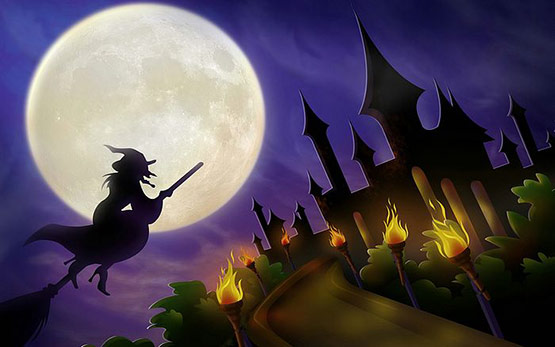 22, Halloween Witche Wallpaper Free for Desktop