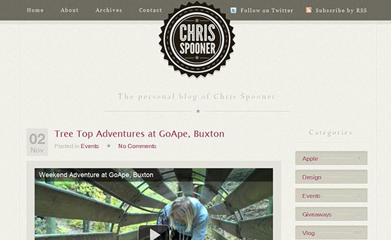 Chris Spooner, , Latest Trend of Logos in Web-Design