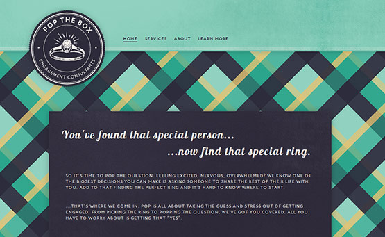 Pop the Box, Latest Trend of Logos in Web Design