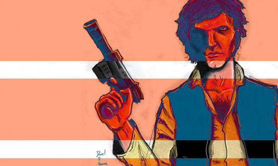 Han Solo Illustration