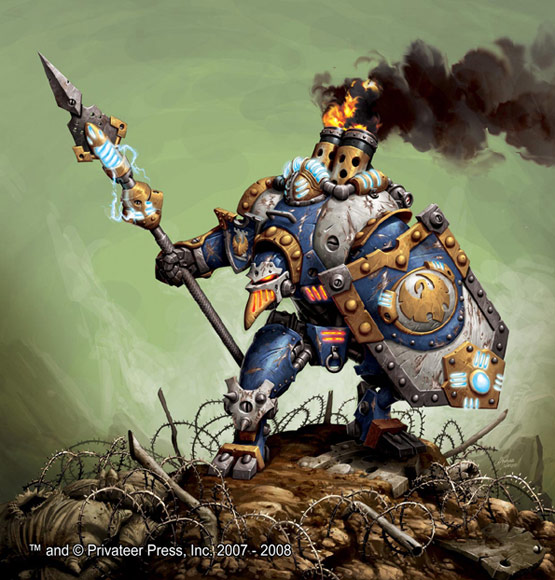 18 of 30, Thorn Warmachine, Digital Painting for Privateer Press