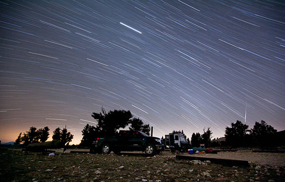 Behind the Scenes: Sleeping Under a Meteor Shower