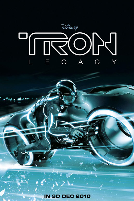 Tron Legacy Movie Poster 01