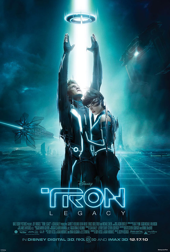 Tron Legacy Movie Poster 10