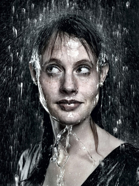 1 of 8, Rain Portrait Photography