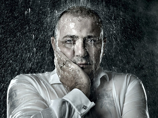 3 of 8, Rain Portrait Photography