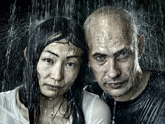 5 of 8, Rain Portrait Photography