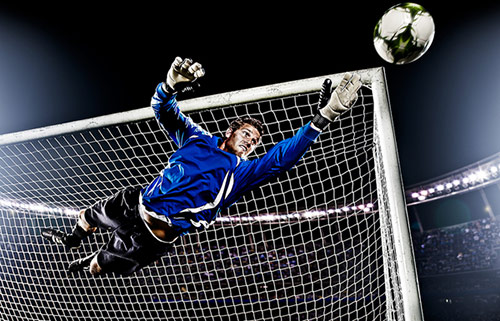 Corbis Soccer Shoot in Action Photos with Perfect Timing