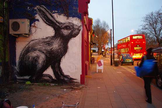 1737 in Graffiti Street Art of Animals