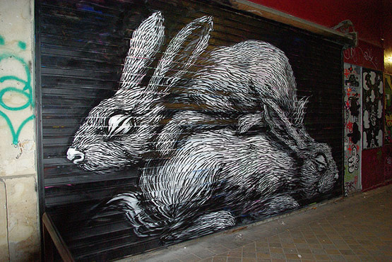 1745 in Graffiti Street Art of Animals