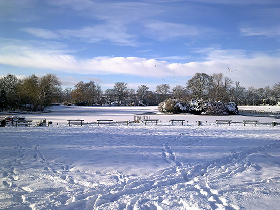 11 of 25, Attractive Snow Pictures of UK 2010