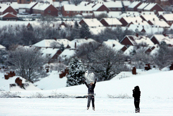 21 of 25, Attractive Snow Pictures of UK 2010