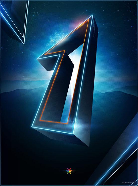 Tron Legacy Countdown Poster 1