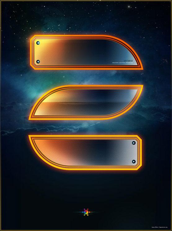 Tron Legacy Countdown Poster 2