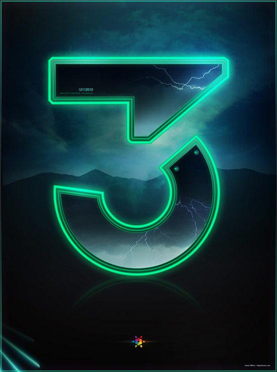Tron Legacy Countdown Poster 3