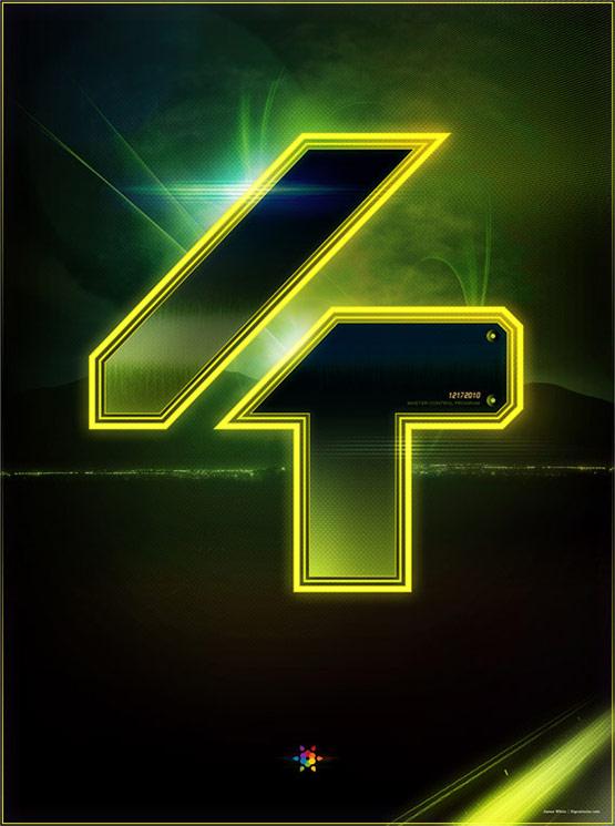Tron Legacy Countdown Poster 4