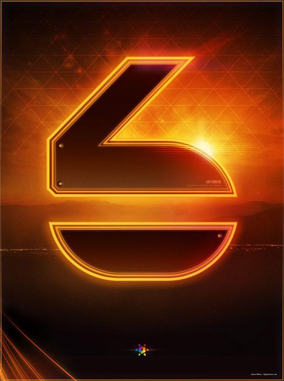 Tron Legacy Countdown Poster 6