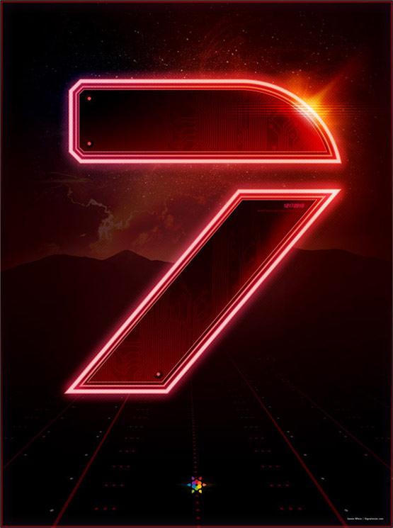 Tron Legacy Countdown Poster 7