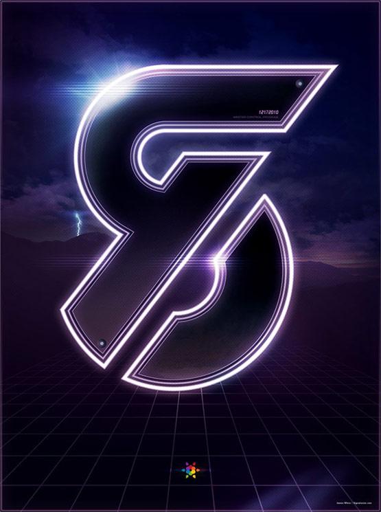 Tron Legacy Countdown Poster 8
