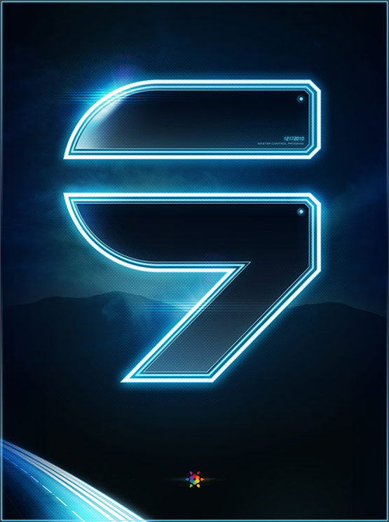 Tron Legacy Countdown Poster 9