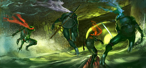 TMNT in Teenage Mutant Ninja Turtles Artworks