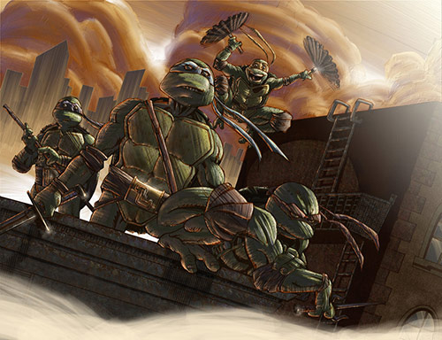 Teenage Mutant Ninja Turtles Artworks
