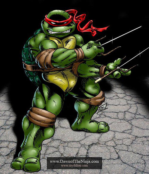 Raphael by DanBaker in Teenage Mutant Ninja Turtles (TMNT) Artworks