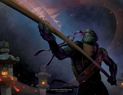 Donatello in Teenage Mutant Ninja Turtles (TMNT) Artworks