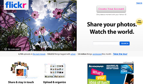 Flickr in Great Websites to Download Free Wallpapers for Desktop