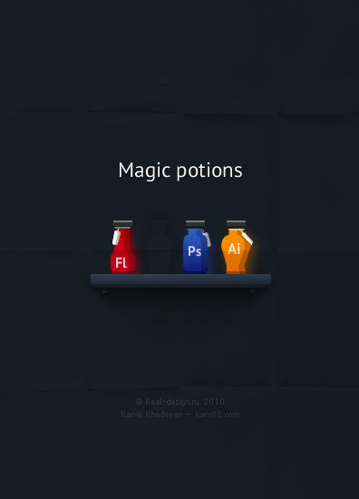 Magic Potions in Inspirational Posters