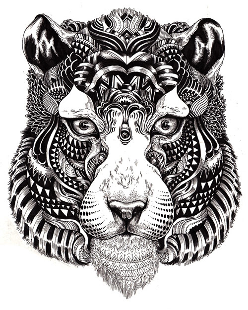 10 AnimalDrawing in Incredibly Amazing Animal Illustrations by Iain Macarthur