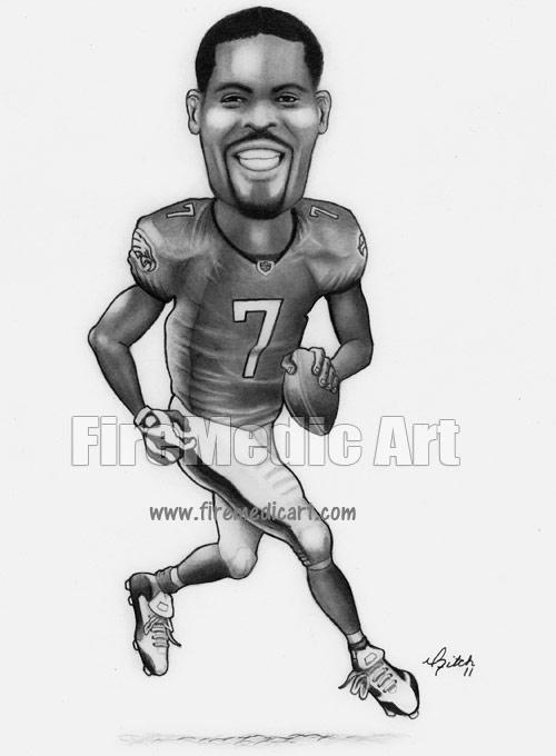 michael vick coloring pages - photo#14