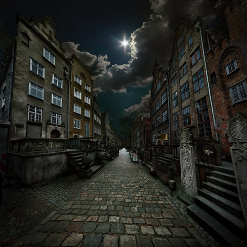 mariacka street in 22 Impressive Examples of Dark Photography
