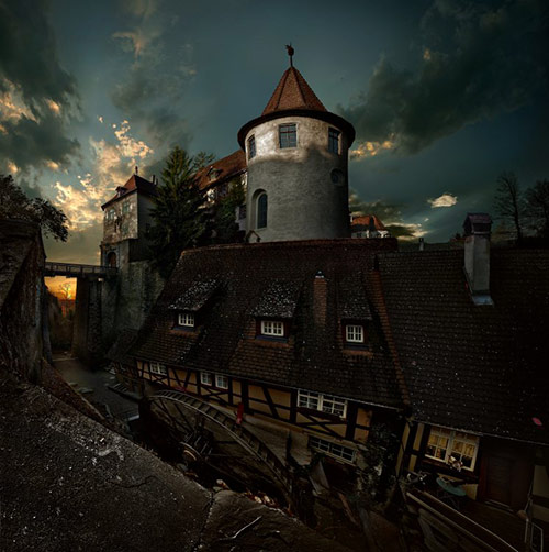 meerseburg watermill in 22 Impressive Examples of Dark Photography