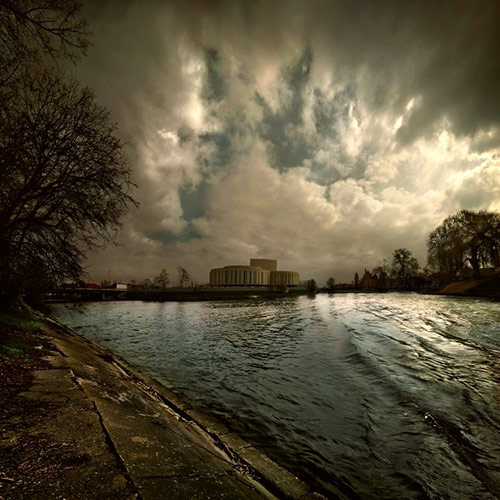 opera nova panorama in 22 Impressive Examples of Dark Photography