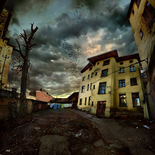 suspended in dusk in 22 Impressive Examples of Dark Photography