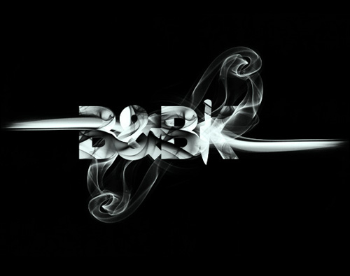 Smoke + Type by Daniel Gordon