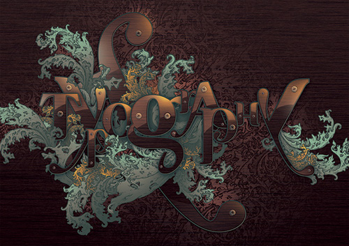 Typographic Illustration by Alex Beltechi