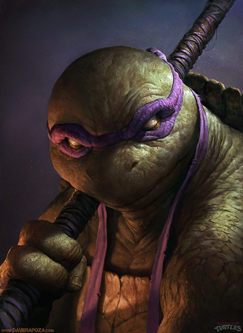 Tmnt Donatello Painting
