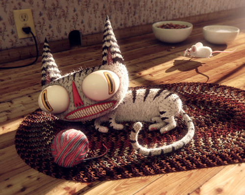 3d artwork 4 in Stunning Examples of Creative 3D Artwork
